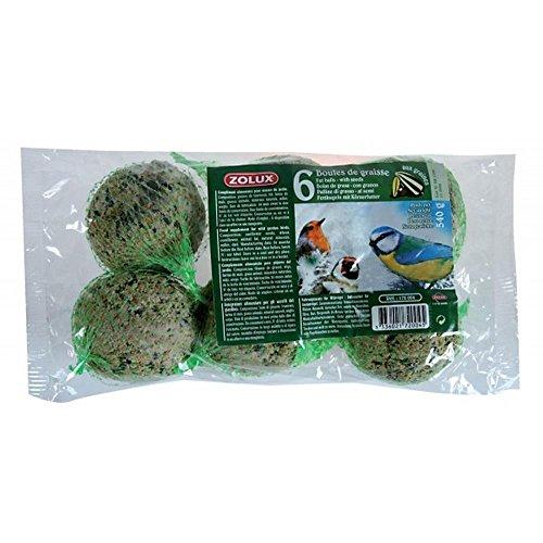 ZOLUX Bag Of Fettkugeln 6 Stück Gr. 90 Nahrung Für Vögel