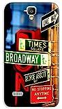 Mixroom - Cover Custodia Case in TPU Silicone Morbida per Huawei Ascend Y5 / Y560 M3525 Manhattan Brodway Time Square