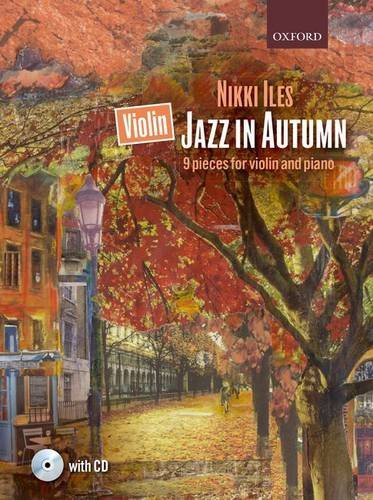 Violin Jazz in Autumn + CD: 9 pieces for violin and piano
