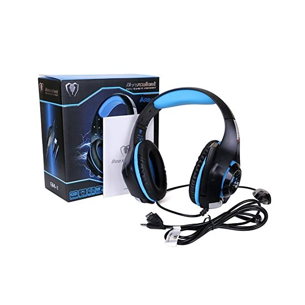 ARINO Cuffie Gamer Headset Gioco Video Cuffia con LED per Cuffia ... 6dd6d2974127