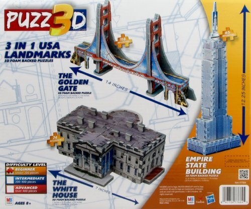 puzz3d-3-in-1-the-white-usa-landmarks-house-motivo-empire-state-building-golden-gate-bridge-e-il-by-