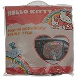 Hello Kitty 26130 Lot de 2 pare-soleil latéraux Hello Kitty