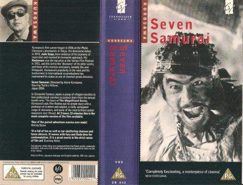 Bild von Die sieben Samurai [VHS]