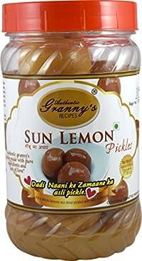 AUTHENTIC GRANNYS RECIPES Sun Lemon Pickle 500gms