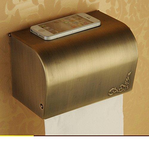 Servizi igienici erba vassoio/Toilet tissue holder/ Portarotolo/Scatola impermeabile carta igienica di stile europeo-B