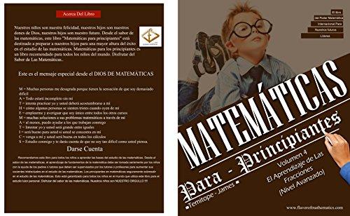 Descargar Libro El Aprendizaje de las fracciones (Nivel avanzado)  (Volume 4): Matematica Para Principiantes de Temitope James