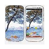 Skinkin Carcasa Galaxy S3de Chez diseño Original: AU Cap de Antibes por Claude Monet