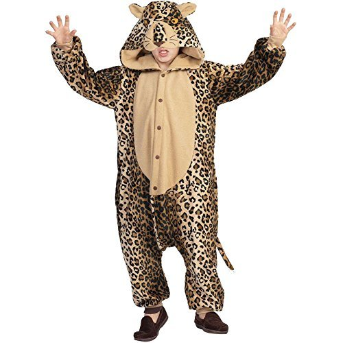 RG Costumes 'Funsies' Lux The Leopard, Child Small/Size 4-6 by RG Costumes