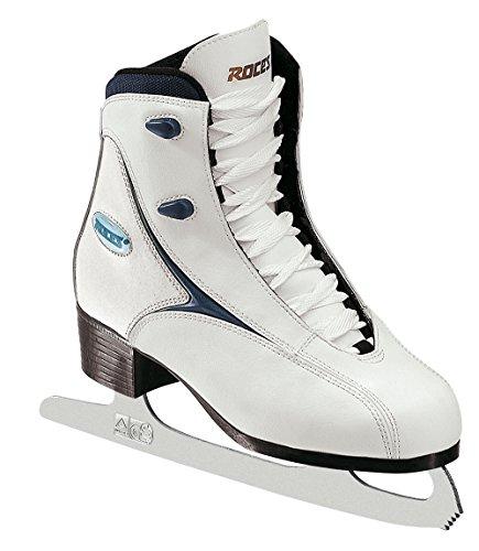 Roces Rfg 1 Ice Skate, Mujer, Blanco/Azul, 32