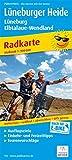 Lüneburger Heide - Lüneburg - Elbtalaue-Wendland: Radwanderkarte mit Ausflugszielen, Einkehr- & Freizeittipps, reissfest, wetterfest, abwischbar, GPS-genau. 1:100000 (Radkarte / RK)