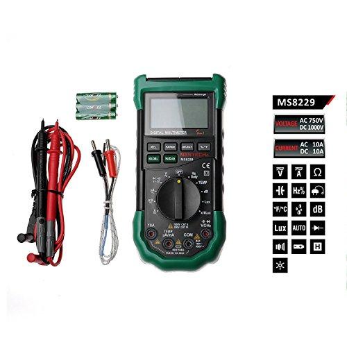 Preisvergleich Produktbild JZK® Mastech MS8264 MS8229 5-in-1 Digital-Multimeter mit automatische / manuelle Reichweite und Daten-Halten