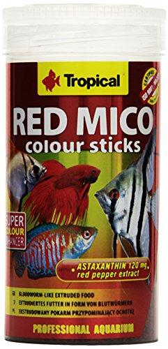 Tropical Red Mico Colour Sticks gefriergetrocknete Blutwürmer, 1er Pack (1 x 250 ml)