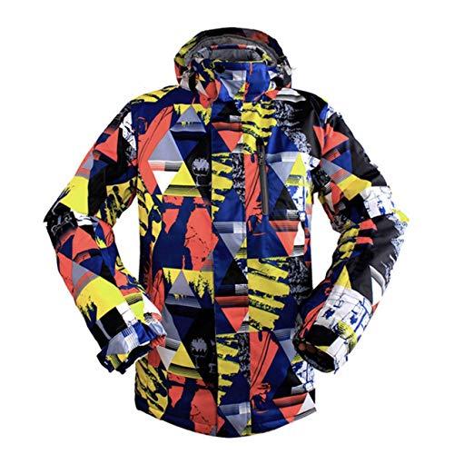 Dooret WILD Snow Professional Ski Jacket für Männer Wasserdicht Winddicht Warm für Outdoor Wandern Snowboarden Radfahren