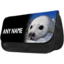 Personalised Seal Pup Animal Pencil Case / Make up Bag 268 2018