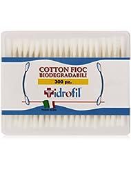 Idrofil-Bâtonnets Cotons Tiges en cottone biodégradables-300 Pièces