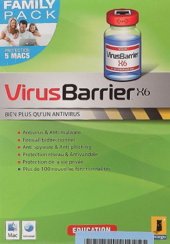 VirusBarrier X6, Education Pack familial (5 postes - 1 an)