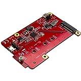 USB auf M.2 SATA Konverter für Raspberry Pi und Entwicklungsboards - M.2 NGFF SATA SSD Adapter