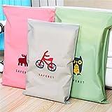 8 sacchetti di immagazzinaggio della maglia di viaggio di PCS Travel Essentials Bags-in-Bag Organizzatori di bagagli Cubi di imballaggio Sacchetti di pattini Sacchetti di cosmetici sacchetto di toletta (stile: chiusura lampo)
