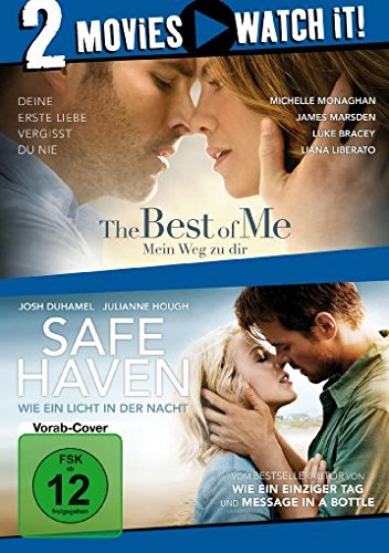 The Best of Me - Mein Weg zu dir / Safe Haven - Wie ein Licht in der Nacht [2 DVDs]