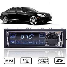 Radio Coche Autoradio MP3077 Pantalla Táctil Senben FM Reloj LCD, MP3, USB, SD