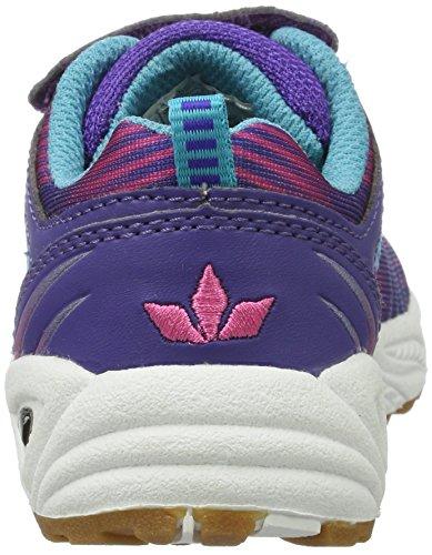 Lico Barney Vs, Chaussures de Handball Fille, Lila/Pink/Türkis Violet (Lila/pink/tuerkis)