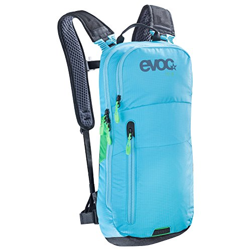 EVOC CC 6l Blue backpack - Backpacks (Blue, 100 D, Unisex, Front pocket, Cell phone pocket, Zipper)