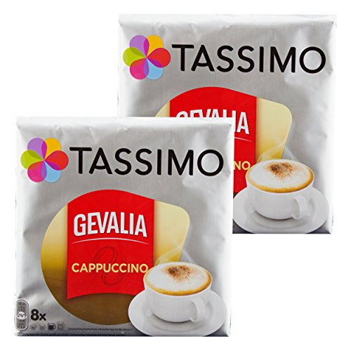 uccino, Kaffee, Kaffeekapsel, Gemahlen, 16 T-Discs / Portionen ()