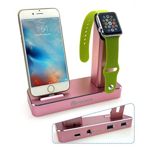 telenet-fidea-r-nouvelle-generation-de-release-5-en-1-aluminium-apple-heures-stand-dual-de-stand-fit