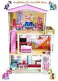 Best For Kids Puppenhaus Kesja aus Holz MDF Wooden Doll