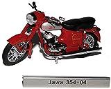 Jawa 354-04 Rot Braun DDR Atlas Collection 1/24 Modellcarsonline Modell Motorrad