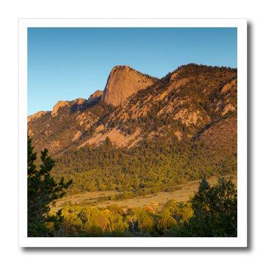 3Zahn der Zeit Phil Mont Scout Ranch Cimarron New Mexico Eisen auf Wärmeübertragung für weiß Material, 25,4x 25,4cm ()