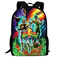 XKYZTKB Pow-er-Ran-gers Full Printed School Book Bag for Boys Girls