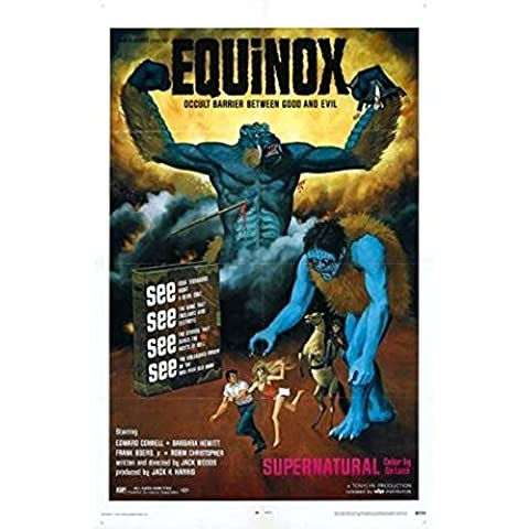 Equinox Movie Poster 11 inches x 17 inches