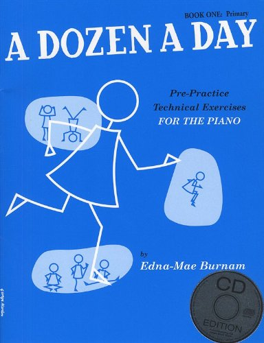 a-dozen-a-day-book-one-primary-edition-book-and-cd-fr-klavier