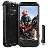 Blackview BV9500 Pro Móvil Libre IP68 Impermeable 4G Smartphone Resistentes 10000mAh (Walkie-Talkie, Carga Inlámbrica, 6GB, 128GB, Android 8.1 Dual SIM 5.7''FHD+,16MP+13MP, Negro) [Versión Global]