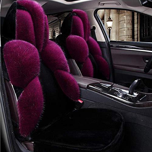 Fushenr Autositzbezug Beschützer C Auto Lenkradbezug Schleifen Microfaser Leder Hebe Fahrqualität Universal Griffabdeckung Autoabdeckung