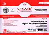 Scanner CS Professional Programme Module II (2017 Syllabus) Paper-6 Resolution of Corporate Disputes, Non-Compliances Remedies Green Edition