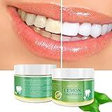 Transer® Teeth Whitening Powder Natural Activated Lemon Whitening Tooth Teeth Powder