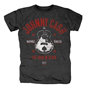 Johnny Cash T-Shirt - Nashville MIB (M)