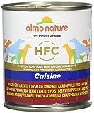 Almo nature HFC - Comida para Perros con Patatas y melocotón, 280 g, 12 Unidades