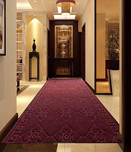 Alfombra del corredor Alfombras de entrada, alfombrillas de escaleras antideslizantes absorbentes se pueden cortar, pasillo pasillo Alfombra alfombra (1-20 metros) Alfombras de piso ( Tamaño : 0.9*1.0m )