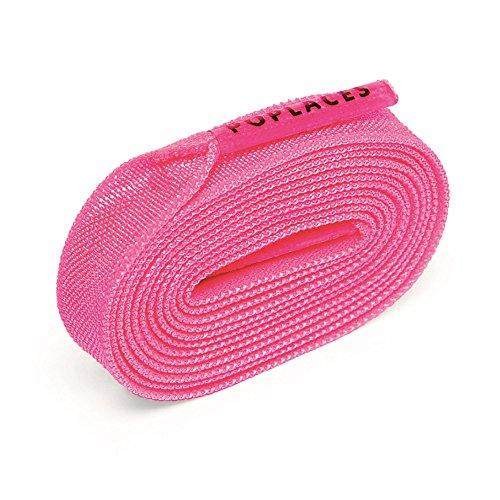 Poplaces, 'No Krawatte' Schnürsenkel von Popband. 90cm x 9mm Pink babyrosa Jordan-mann-tennis-schuhe
