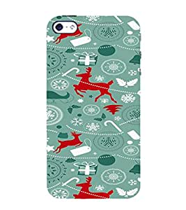 ifasho Designer Phone Back Case Cover Apple iPhone 5 ( Stone Pattern Design )