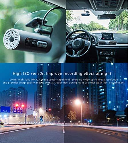 51qaC%2BzJ sL - 70mai Grabador de Conducción de Automóviles Cámara de Dash 1080 P Full HD Smart Car DVR Versión Nocturna 130 Grados FOV Camo Dash CAM G-Sensor Dashcam Control de Voz Inglés, Negro