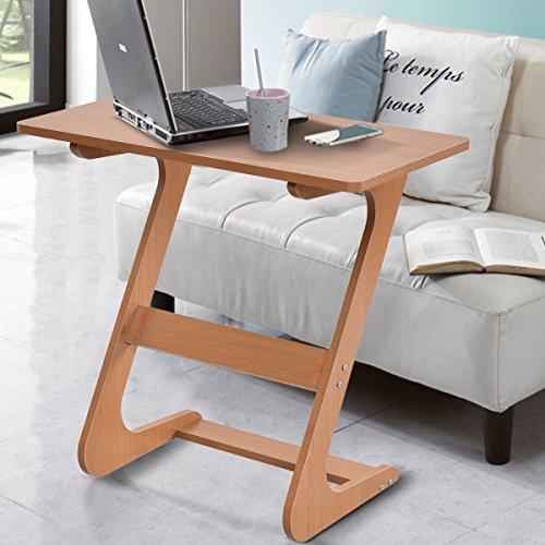 COSTWAY Schreibtisch Arbeitstisch Sofatisch PC Tisch Bürotisch  Computertisch Kinderschreibtisch 75 X 44 X 70cm (Natur