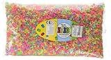 Nabbi Schmelzperlen aus Kunststoff, Plastik, neon, 20000-Piece