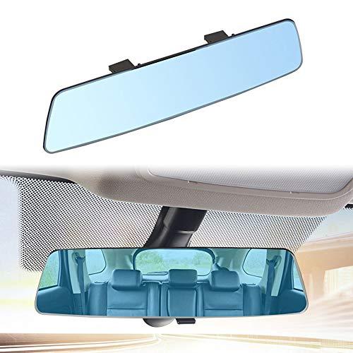 Semine 2.5D High-Definition-Auto-Rückspiegel-Oberfläche ohne Rand Blendschutz Blauer Spiegel Autozubehör