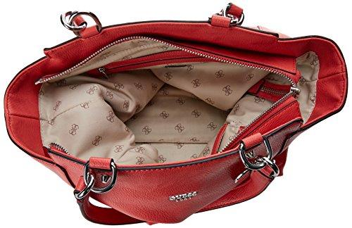 Guess Hobo, Borsa a Spalla Donna, 12.5x28x40.5 cm (W x H x L) Rosso (Poppy)