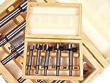 Qualität Tischler 5 Stücke metrisch Forstnerbohrer Set in Holzbox 15 - 35mm DR140