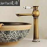 XB.T Sépia, minimaliste, Continental, meubles anciens et modernes de haut à l'échelle du bassin, les robinets, raccords en cuivre, du bassin du bassin du banc, la foule Basin